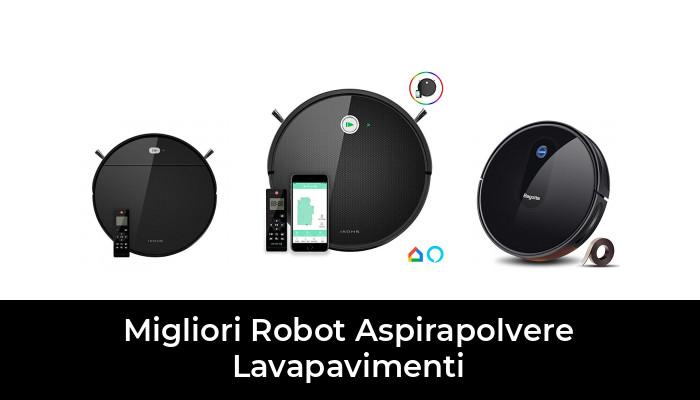 ,Bianca ZXPAG Robot Lavapavimenti e Aspirapolvere Scopa Robotino Lavapavimenti con 3 modalit/à di Pulizia Ottimo per i Peli degli Animali Domestici