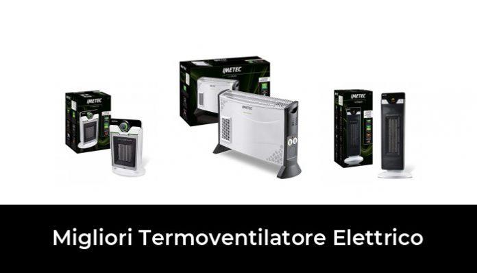 Nero Stufetta Bagno Oscillazione AutomaticaTecnologia Ceramica a Basso Consumo Energetico VACPOWER Eco Ceramic Termoventilatore