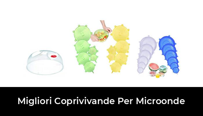 Anti Vapore e Funzione Colino Accessorio Compatibile lavastoviglie Colonel Cook-Coperchio microonde-Senza BPA-✮✮Garanzia A Vita✮✮-Coperchio microonde 3 en 1-Coperchio per microonde Retrattile